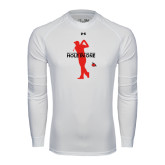 Under Armour White Long Sleeve Tech Tee-Hole In One
