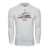 Under Armour White Long Sleeve Tech Tee-Cross Country Shoe