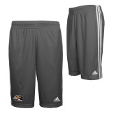 Adidas Climalite Charcoal Practice Short-SIUE Cougars Official Logo