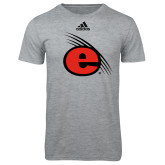 Adidas Sport Grey Logo T Shirt-e Slash Mark