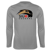 Syntrel Performance Steel Longsleeve Shirt-SIUE Cougars Official Logo