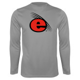 Syntrel Performance Steel Longsleeve Shirt-e Slash Mark
