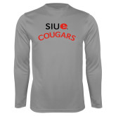 Performance Steel Longsleeve Shirt-SIUE Arched Cougars
