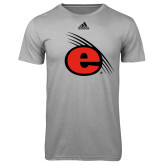 Adidas Climalite Sport Grey Ultimate Performance Tee-e Slash Mark