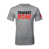 Grey T Shirt-Cougars Roar