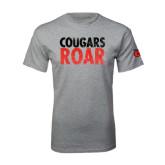 Grey T Shirt-Cougars Roar