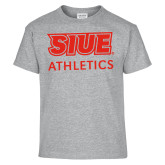 Youth Grey T-Shirt-SIUE