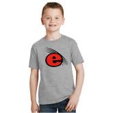 Youth Grey T-Shirt-e Slash Mark