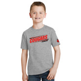 Youth Grey T-Shirt-Cougars #SIUENATION