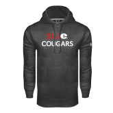 Under Armour Carbon Performance Sweats Team Hoodie-SIUE Cougars Stacked