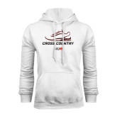 White Fleece Hoodie-Cross Country Shoe