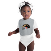Sport Grey Baby Bib-SIUE Cougars Official Logo