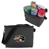 Six Pack Grey Cooler-SIUE Cougars Official Logo