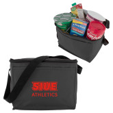Six Pack Grey Cooler-SIUE