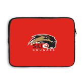 13 inch Neoprene Laptop Sleeve-SIUE Cougars Official Logo