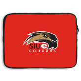 15 inch Neoprene Laptop Sleeve-SIUE Cougars Official Logo