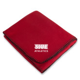 Red Arctic Fleece Blanket-SIUE