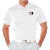 Callaway Opti Vent White Polo-SIUE Cougars Official Logo