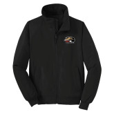 Black Charger Jacket-SIUE Cougars Official Logo