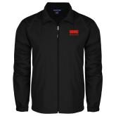 Full Zip Black Wind Jacket-SIUE