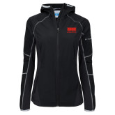 Columbia Ladies Sweet As Softshell Black Jacket-SIUE