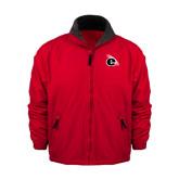 Red Survivor Jacket-e Slash Mark