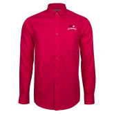 Red House Red Long Sleeve Shirt-SIUE Arched Cougars