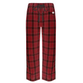 Red/Black Flannel Pajama Pant-SIUE