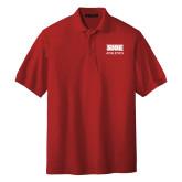 Red Easycare Pique Polo-SIUE
