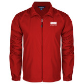 Full Zip Red Wind Jacket-SIUE