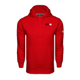 Under Armour Red Performance Sweats Team Hoodie-SIUE