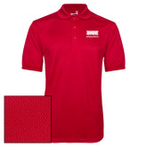 Red Dry Mesh Polo-SIUE