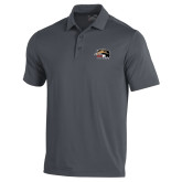 Under Armour Graphite Performance Polo-SIUE Cougars Official Logo