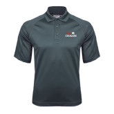 Charcoal Dri Mesh Pro Polo-SIUE Cougars Stacked