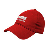 Red Twill Unstructured Low Profile Hat-SIUE