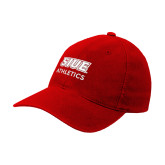 Red OttoFlex Unstructured Low Profile Hat-SIUE