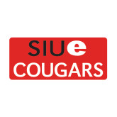 Medium Magnet-SIUE Cougars Stacked, 8 inches wide