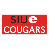 Extra Large Magnet-SIUE Cougars Stacked, 18 inches wide