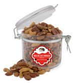 Deluxe Nut Medley Round Canister-SIUE Cougars Official Logo
