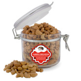 Cashew Indulgence Round Canister-SIUE Cougars Official Logo