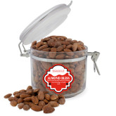Almond Bliss Round Canister-Institutional Mark