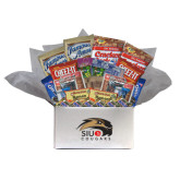 College Care Package Snackdown Deluxe-SIUE Cougars Official Logo