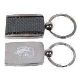 Corbetta Key Holder-SIUE Cougars Official Logo Engraved