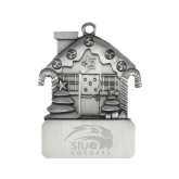 Pewter House Ornament-SIUE Cougars Official Logo Engraved