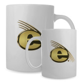 Full Color White Mug 15oz-Gold E