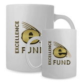 Full Color White Mug 15oz-Excellence Fund