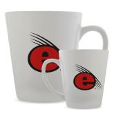 12oz Ceramic Latte Mug-e Slash Mark