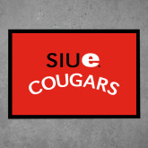 Full Color Indoor Floor Mat-SIUE Arched Cougars
