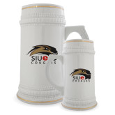 Full Color Decorative Ceramic Mug 22oz-SIUE Cougars Official Logo