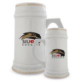 Full Color Decorative Ceramic Mug 22oz-SIUE Cougars Official Logo